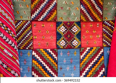 Moroccan carpet. Oriental ornaments