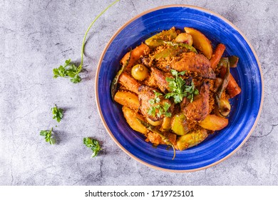 Moroccan Chicken with Couscous is a delicious, comforting dish that will impress even the toughest of critics.
