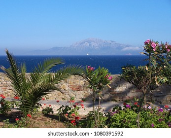 Moroccan Coast - Strait of Gibraltar - View from Tarifa Andalusia