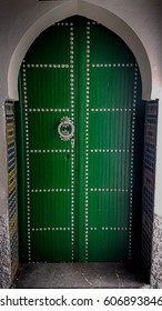 moroccan door in tetouan