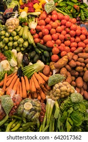 Moroccan Fresh Fruit and Vegetable Market