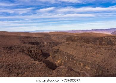 The moroccan Grand Canyon in Atlas Mountains