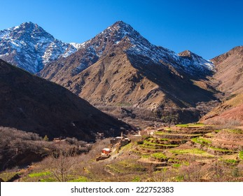 Moroccan High Atlas Mountains