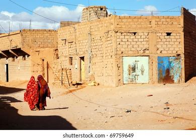 Moroccan street scene