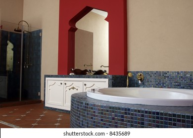 Moroccan style spa suite