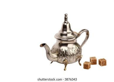 Moroccan tea-pot
