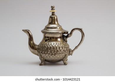 Moroccan Teapot against white background