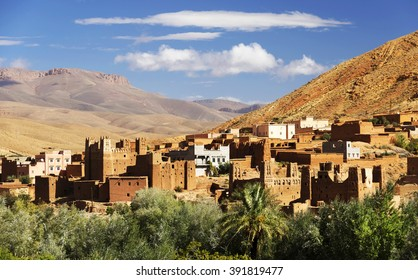 Moroccan village in Dades Valley, Morocco, Africa