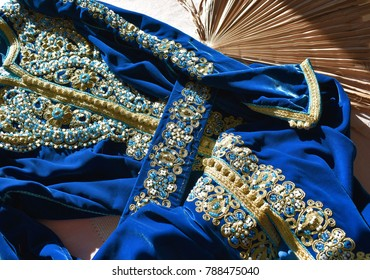 Moroccan wedding caftan