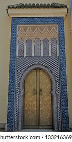 Morocco door archi