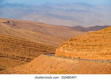 Morocco: Jbel Saghro (or Djebel Sahrho) mountains