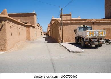 Morocco streets. Real life on Morocco streets and cities.