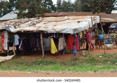 Morogoro Tanzania Africa August 7 2016 scene of daily life in an African market
