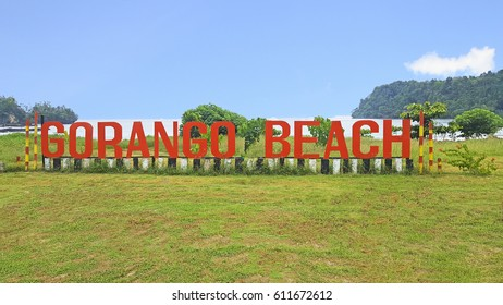 Morotai Island, Indonesia - October, 2016: Gorango Beach