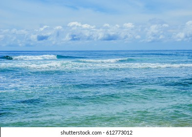 Morotai island waves, Indonesia