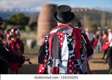 Morris Dancers in costume