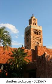 morrocan tower