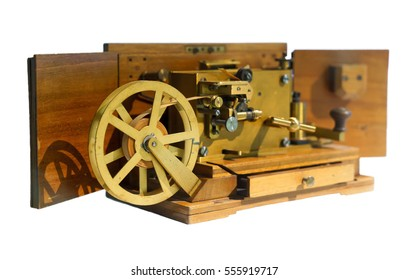 Morse telegraph system. Isolated