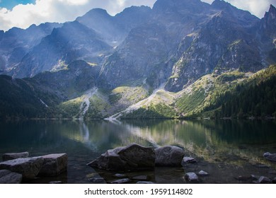 Morskie Oko - the biggest lake in polish mountains (Tatry) - Shutterstock ID 1959114802