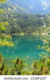 Morskie Oko lake in Polish Tatra Mountains