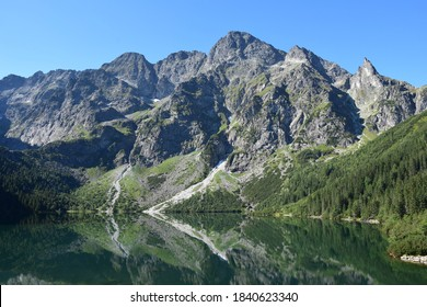 Morskie Oko in summer - the Tatra Mountains - Shutterstock ID 1840623340
