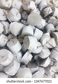 Mortar ball,Mortar used to measure concrete pouring level, building foundation,Concrete mortar measuring concrete structure,small Cylindrical mortar,Providing concrete pouring levels