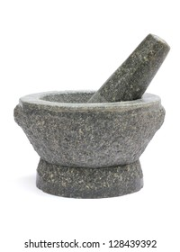 mortar and pestle; Thai kitchen utensil