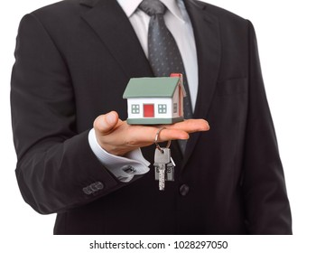 Mortgage and home insurance concept