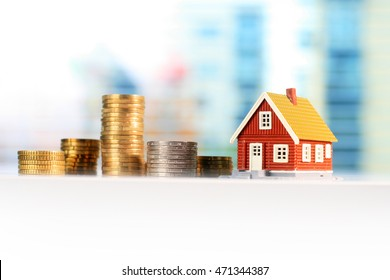 Mortgage house concept