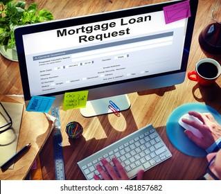 Mortgage Loan Pawn Pledge Refinance Insure Concept