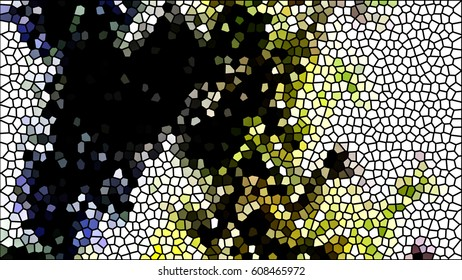 Mosaic colorful pattern for design and backgrounds