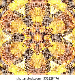 Mosaic colorful pattern for wallpapers, ceramic tiles and design