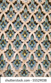 Mosaic detail - Hassan II Mosque - Casablanca - Best of Morocco