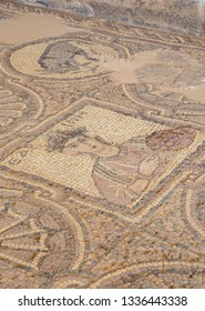 Mosaic Floor of the Byzantine Church, Petra, Ma'an Governorate, Jordan