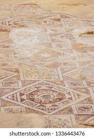 Mosaic Floor in Jerash, Jerash Governorate, Jordan
