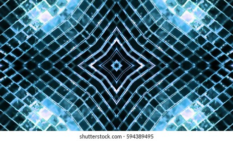 Mosaic glass background