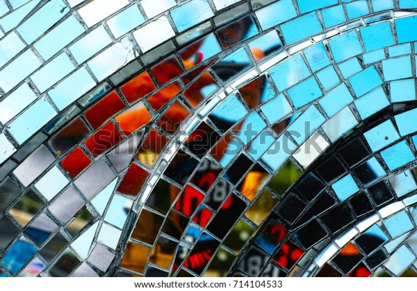 Mosaic Glass Background Colorful Texture Stock Photo (Edit Now ...