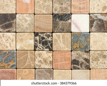 mosaic from a natural stone a background