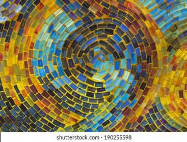 Mosaic Quilt Detail