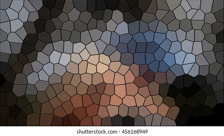 Mosaic sandstone background wall
