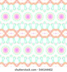 Mosaic seamless colorful pattern for wallpapers, ceramic tiles, design and backgrounds