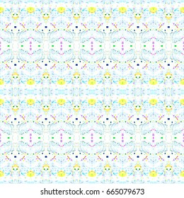 Mosaic seamless colorful pattern for wallpapers, tiles, design and backgrounds