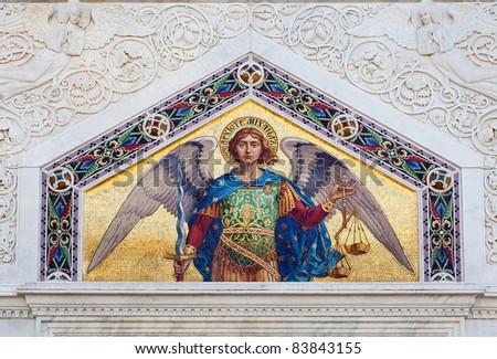 Mosaic of St Michael