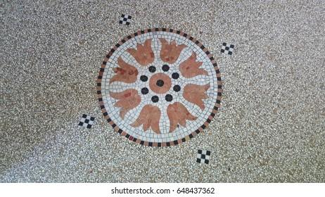 mosaic tile flooring