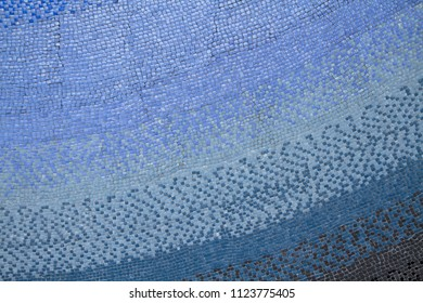 Mosaic tiled wall background