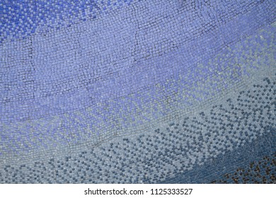 Mosaic tiled wall texture or background