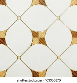 Mosaic Wall Background
