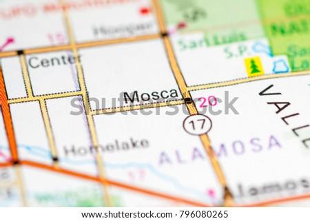 Mosca Colorado Map.Mosca Colorado Usa On Map Stock Photo Edit Now 796080265