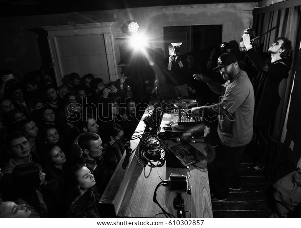 Moscow 19 December2015 Famous Hip Hop Stock Photo (Edit Now