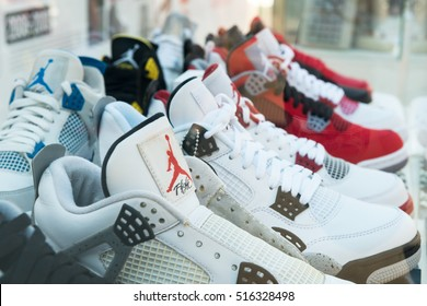 MOSCOW - 7 AUGUST, 2016 : Youth Festival Faces & Laces in Gorky Park sneakers, tattoo masters, graffiti painter, gathered designers, DJs, shops and auto tuners.